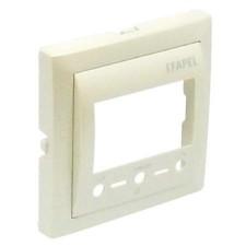 Tapa termostato digital Efapel con IR 90742 T PE PERLA