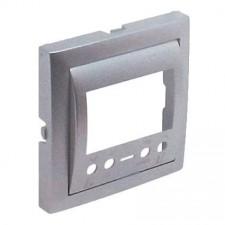 Tapa cronotermostato digital Efapel 90740 T AL Logus 90 aluminio