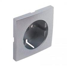 Tapa de enchufe Efapel schuko 90632 T AL Logus 90 aluminio