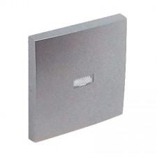 Tecla interruptor con piloto Efapel 90602 T AL Logus 90 aluminio
