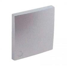 Tecla pulsador símbolo luz Efapel 90607 T AL Logus 90 aluminio