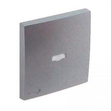 Tecla pulsador luminoso símbolo llave Efapel 90794 T AL Logus 90 aluminio