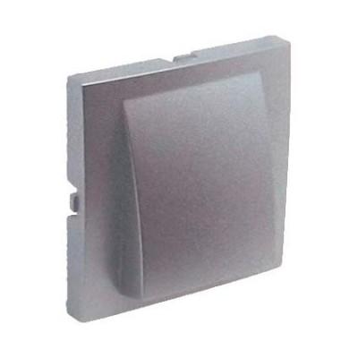 Tapa salida de cables Efapel 90671 T AL Logus 90 aluminio