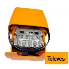 Amplificador de antena 3e 1s U-Vmix FI Televés 561601 NANOKOM