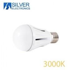 Bombilla estándar LED de aluminio 15W 3000K Silver electronics