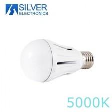 Bombilla estándar LED de aluminio 15W 5000K Silver electronics