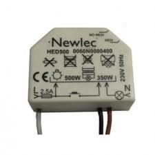 Regulador electronico HED500 500W 220/230V 50Hz