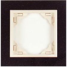 Marco simple mecanismos Efapel 90910 T GP granito perla