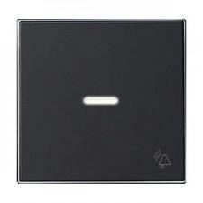Tecla con visor timbre 8504.3 ns negro soft niessen sky
