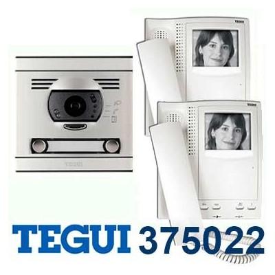 Videoportero tegui 375022 blanco negro v2 serie 7 precio for Videoportero tegui precio