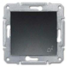 Pulsador símbolo campana Schneider Sedna SDN0800170 grafito