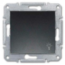 Pulsador símbolo luz Schneider Sedna SDN0900170 grafito