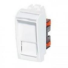 Base RJ45 bticino Livinglight UTP Cat.6 N4279C6 color blanco