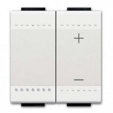 Regulador dimmer universal Livinglight BTicino N4411N blanco