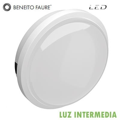 Plafón LED SELEN Beneito & Faure 4667 12W 220V Luz intermedia 4000k