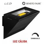 Aplique LED COMET color negro Dimmable 40W 100º 2700k