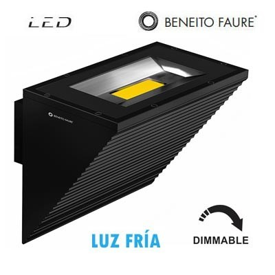 Aplique LED COMET color negro Dimmable 40W 100º 5000k