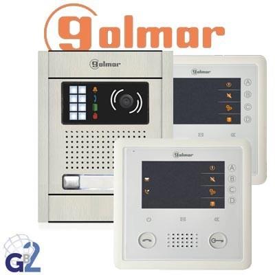 Kit videoportero Golmar GB2 N5220/VESTA 2 viviendas