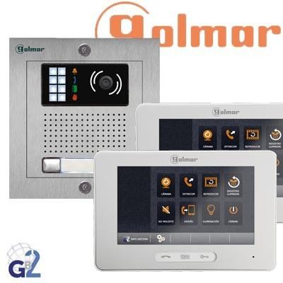 Kit videoportero Golmar GB2 NX5220/THERA 2 viviendas