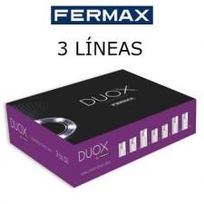 Videoportero Fermax City DUOX color 3 líneas 49638