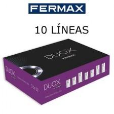 Videoportero Fermax City DUOX 49718 10 líneas color