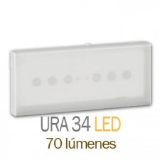 Luminaria de emergencia legrand 661240 ura 34 led