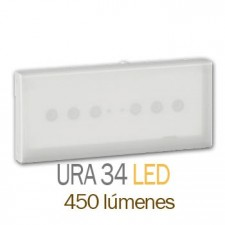 Luz de emergencia legrand 661245 ura 34 led