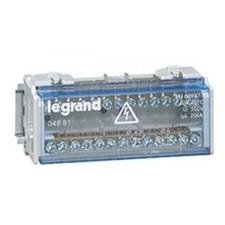 Repartidor modular bipolar legrand 04881 40A 6 módulos