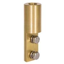 Conector punta captadora pararrayos bajante conductor plano 111039