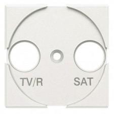 Tapa antena TV/R SAT Bticino Axolute HD4212 blanco