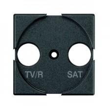 Tapa antena TV/R SAT Bticino Axolute HS4212 antracita