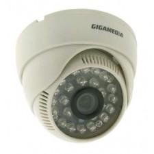 Cámara Gigamedia GGM CCDE7I2F3P interior dia y noche lente 3,6mm