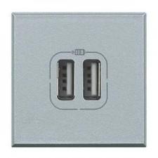 Toma cargador USB tech de BTicino Axolute HC4285C2
