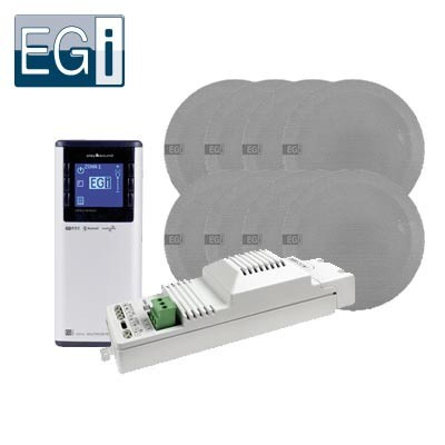 Kit de hilo musical Bluetooth EGI 8 altavoces
