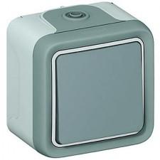 Interruptor conmutador estanco gris 069711 Legrand