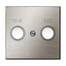 Tapa toma televisión 8550.1 ai acero inoxidable niessen sky