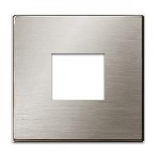Tapa toma cargador USB 8585 ai acero inoxidable sky niessen