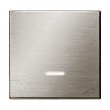 Tecla regulador electronico pulsación 8560.1 ai acero inoxidable niessen sky