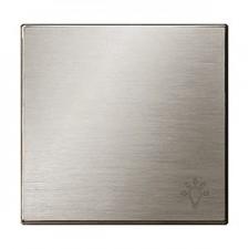 Tecla simbolo luz 8504.2 ai acero inox niessen sky