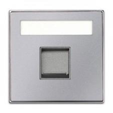 Tapa toma informatica con persiana 8518.1 pl plata niessen sky