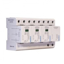 Protector de sobretensiones transitorias trifásico Ingesco 220V SLS-B+C100/3+1