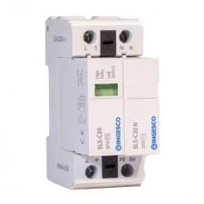 Descargador de sobretensiones transitorias monofásico Ingesco 220V SLS-C20/1+1