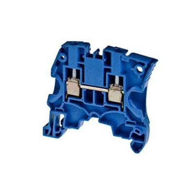 Borna conexión carril DIN 4mm azul ZS4-BL ABB
