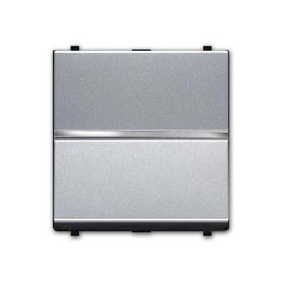 Conmutador 2 modulos n2202 pl plata...