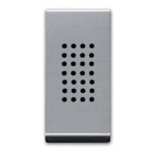 Zumbador tono regulable plata n2119pl serie zenit niessen