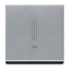 Portafusibles color plata n2208 pl Zenit Niessen