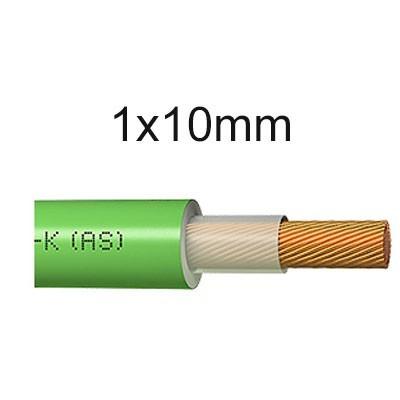 Cable unipolar libre de halógenos 1x10mm RZ1-K
