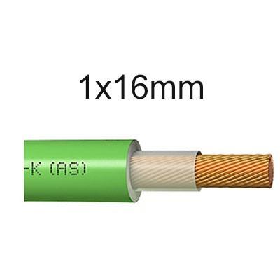 Cable unipolar libre de halógenos 1x16mm RZ1-K