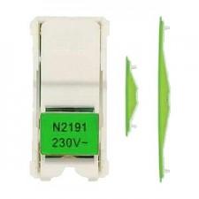 Kit iluminacion LED interruptores Zenit Niessen N2191VD