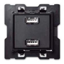 Toma cargador USB doble 10000381-039 simon 100